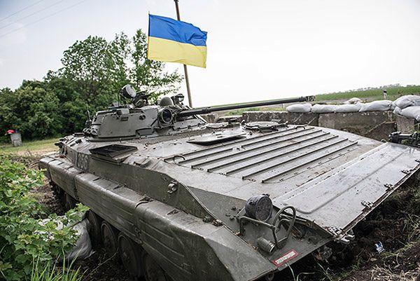 Ukraina: bojówkarze znów używają wyrzutni rakietowych Grad
