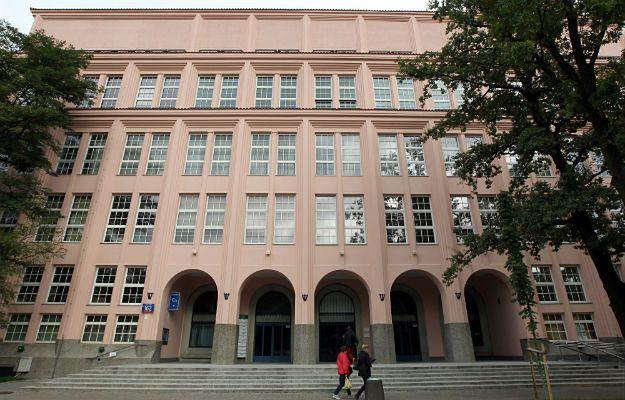 Budynek Szkoły Głównej Handlowej w Warszawie