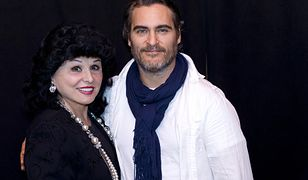 Yola Czaderska-Hayek i Joaquin Phoenix