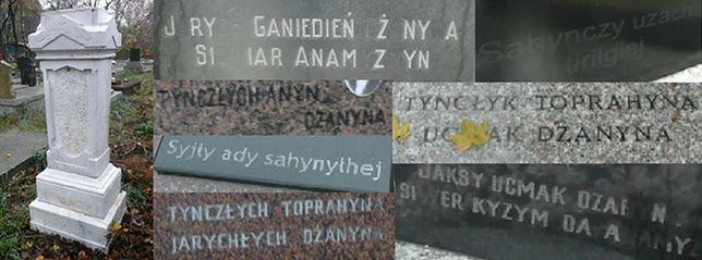Cmentarz karaimski (SPACER)