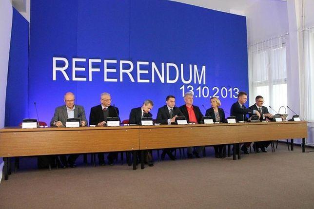 Referendum jednak ważne. Prokuratura umorzyła śledztwo