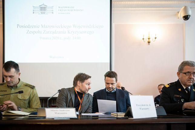 W spotkaniu zorganizowanym przez wojewodę mazowieckiego uczestniczył Rafał Trzaskowski.