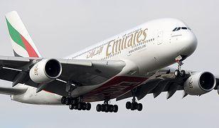 Airbus A380, największy pasażerski samolot świata wylądował na Okęciu w Warszawie