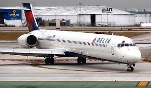 Delta Air Lines - pijany pilot aresztowany.