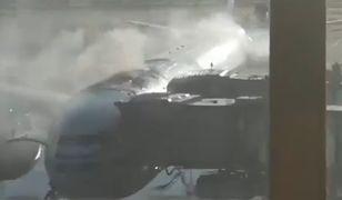 Boeing A330 linii Air China zapalił się tuż przed startem