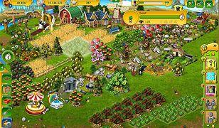 """Screen z gry """"Farmerama"""""""