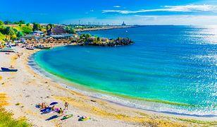 Wybrzeże Morza Czarnego w Rumunii zachwyca