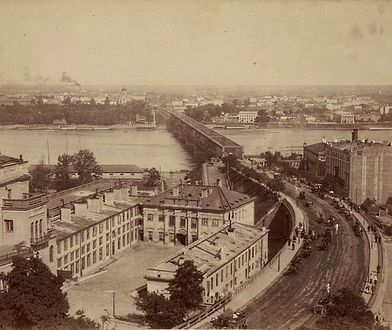 Warszawa w 1870 roku [Niesamowite zdjęcia]