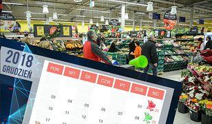 Zgodnie z obecnymi założeniami zdarzą się sytuacje, że zakupów nie zrobimy przez dwie niedziele z rzędu
