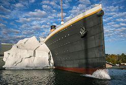 Muzeum Titanica. Góra lodowa runęła na turystów