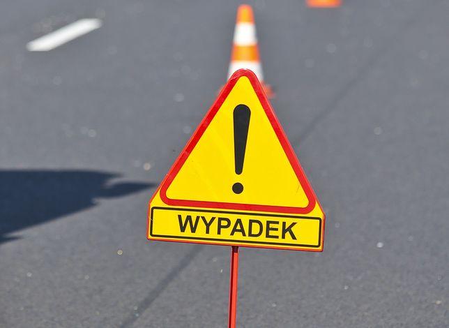Łódź. Zderzenie trzech aut na autostradzie A1