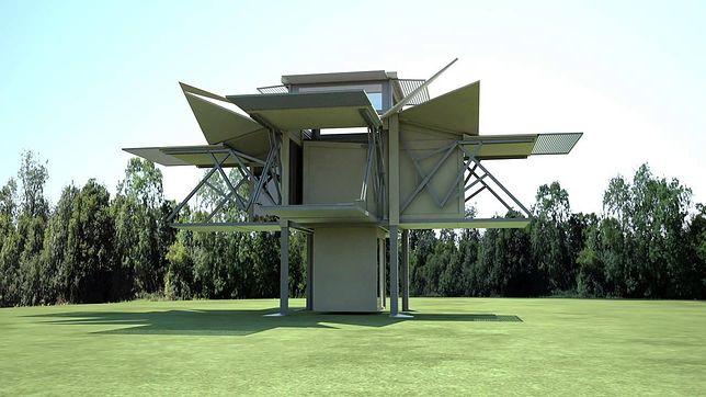 Mobilny dom, który można złożyć w 10 minut. Nie wierzysz? Zobacz wideo