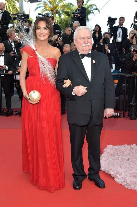 Dominika Kulczyk i Lech Wałęsa, Cannes 2017