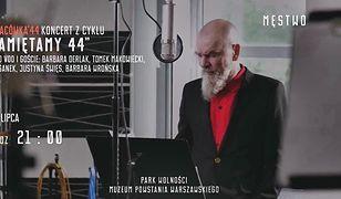 Voo Voo i Agata Duda-Gracz na obchodach 71. rocznicy wybuchu powstania