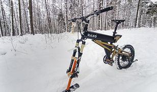Śląsk. Rowerowe szaleństwo w wersji snow