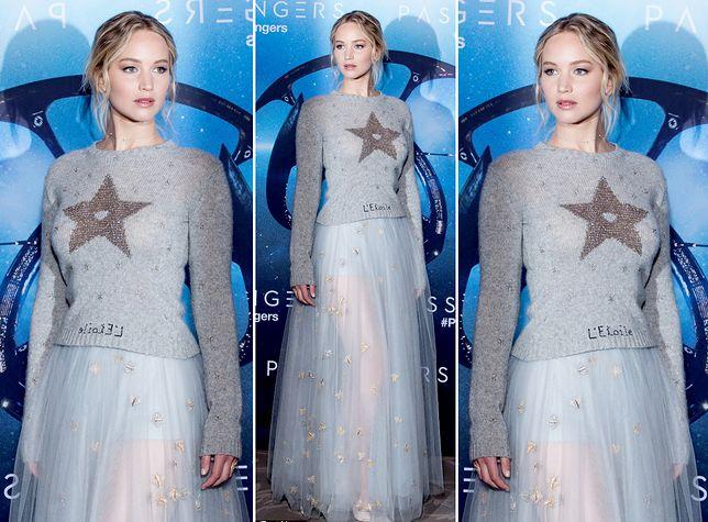 "Jennifer Lawrence na premierze ""Passengers"""