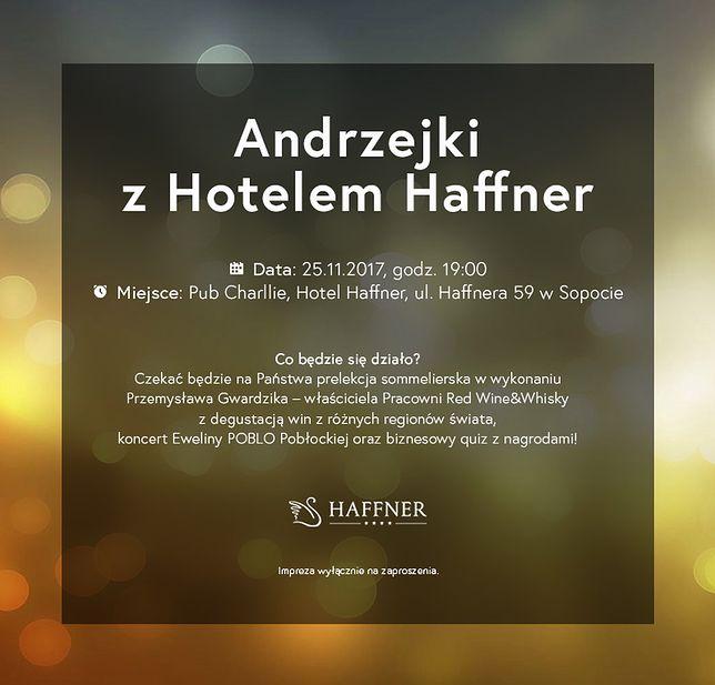 """""""Biznesowe Andrzejki"""" w Hotelu Haffner"""