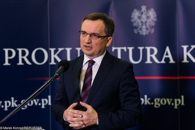 Minister sprawiedliwości Zbigniew Ziobro ma odmienne zdanie od Sądu Najwyższego