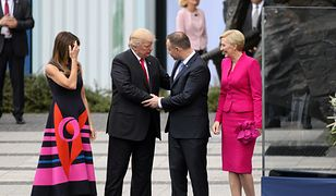 W lipcu prezydent Stanów Zjednoczonych odwiedził Polskę