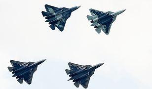Jakie dźwięki wydają rosyjskie Su-57? Słychać je na tym nagraniu