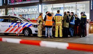Haga. Atak nożownika w centrum miasta. Co najmniej 3 rannych