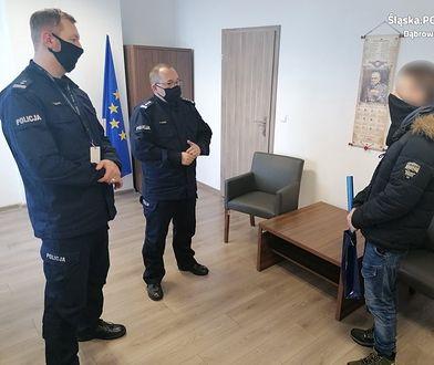 Śląskie. Podpalał osiedlowe śmietniki. Policji pomógł świadek - uczeń dąbrowskiego liceum