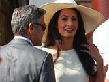 Amal i George Clooneyowie nadal świętują swój ślub