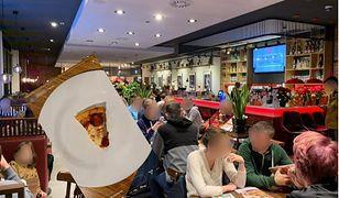 Tłum w restauracjach, małe kawałki pizzy - te czynniki oburzają klientów podczas Festiwalu Pizzy (kolaż: WP.PL).