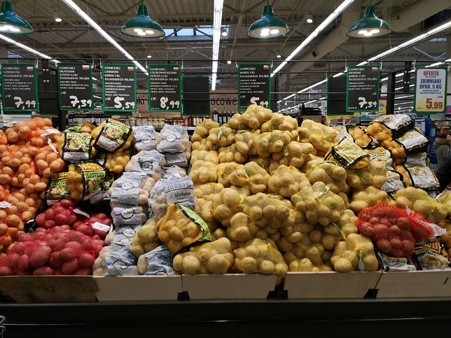 Ceny ziemniaków w ciągu zaledwie roku poszły w górę o 100 procent.