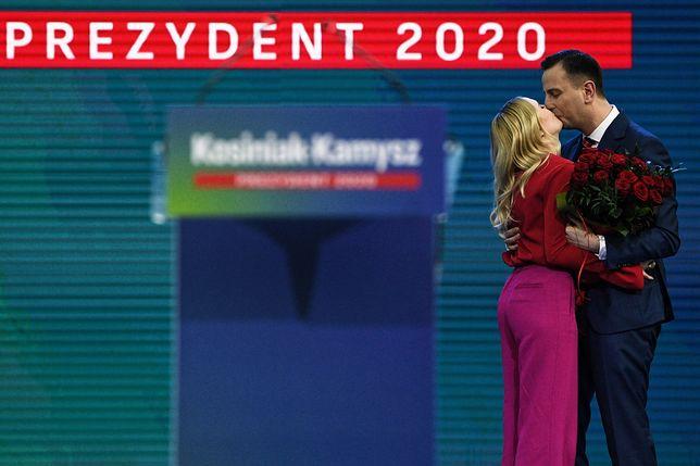 Władysław Kosiniak-Kamysz z żoną Pauliną