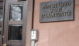 Wydalenie dyplomatów z Rosji. Jest reakcja polskiego MSZ