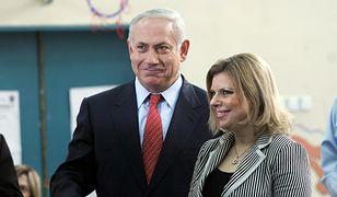 Wizyta premiera Netanjahu i jego żony na lotnisku w Kijowie zakończyła się medialną burzą