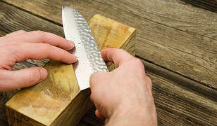 Ostrzenie noży na kamieniu to nie lada wyzwanie