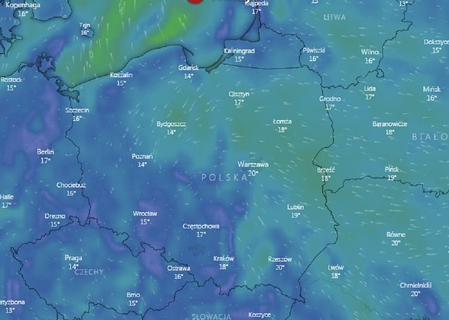 Prognoza pogody na noc z soboty na niedzielę.