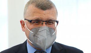 Szef GIS chciał ukarania dr. Pawła Grzesiowskiego. Jest decyzja