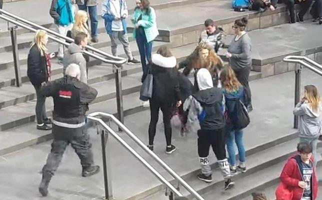 Brutalna bójka młodzieży z ochroną sklepu. 5 osób usłyszało zarzuty