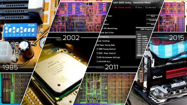 30 lat: historia podkręcania komputerów w pigułce