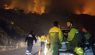 Ogromny pożar na Wyspach Kanaryjskich. 27-latek podpalił... papier toaletowy