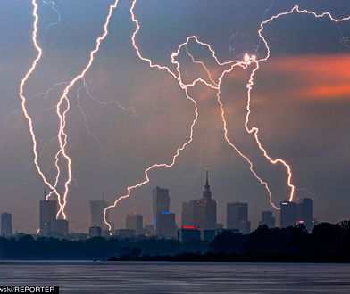Radar burzowy. Zobacz, gdzie jest burza!