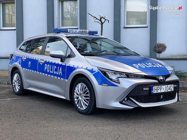 Komenda w Jaworznie wzbogaciła się o nowy radiowóz.