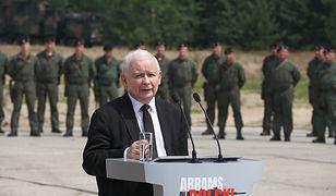 """Nowa umowa z USA. Kaczyński: """"Chcesz pokoju, szykuj się na wojnę"""""""