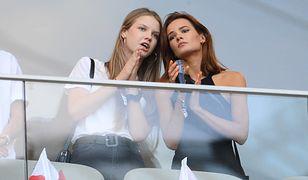 Iga Lis i Natalia Szroeder na meczu Polska-Izrael w czerwcu 2019 r.
