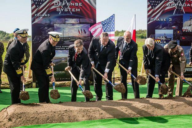 Inauguracja budowy bazy tarczy antyrakietowej w Redzikowie