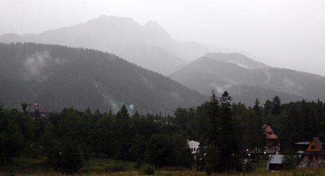 Nawałnice i ulewy. Załamanie pogody w Tatrach