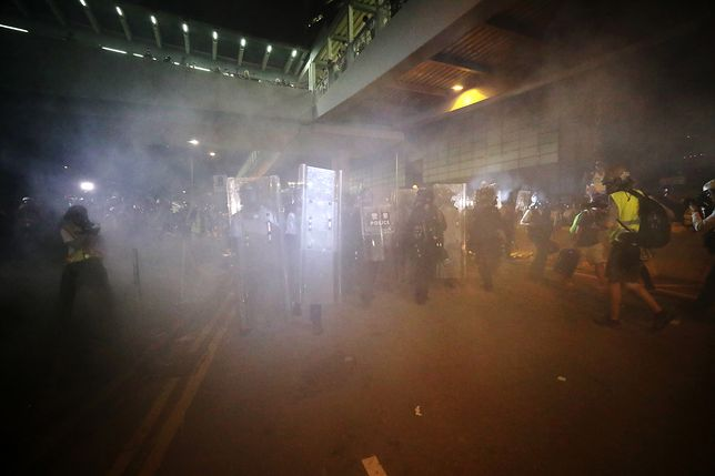Hongkong. Ponad 50 osób rannych podczas pacyfikacji protestu