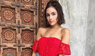 LOOK OF THE DAY: Olivia Culpo odsłania ramiona