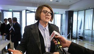 Julia Pitera: nie wykonałam wyroków sądu, ale to nic przy tym, co robi PiS