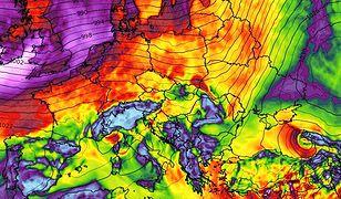Pogoda. Ostrzeżenie z IMGW. Nadciągają wichury i pierwsze burze