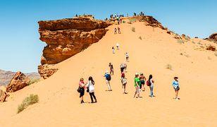 Wadi Rum to jedna z największych atrakcji Jordanii