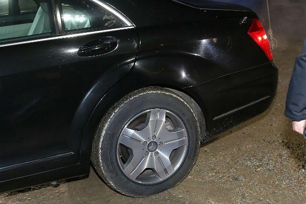 Wypadek prezydenckiej limuzyny: biegli nie znaleźli śladów materiałów wybuchowych na oponie